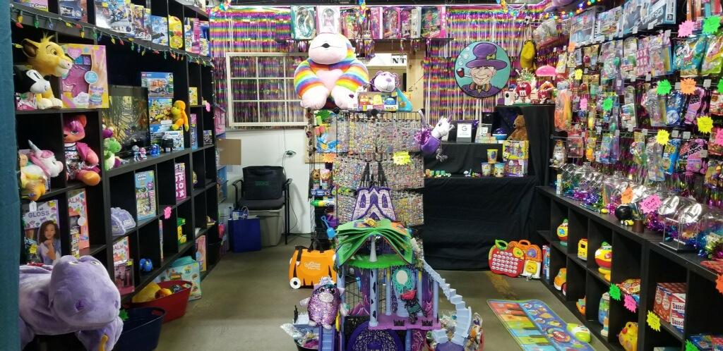M.P. Razzle-Dazzle's Toy & Candy Emporium
